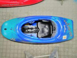 Freestyleboot blau-türkis